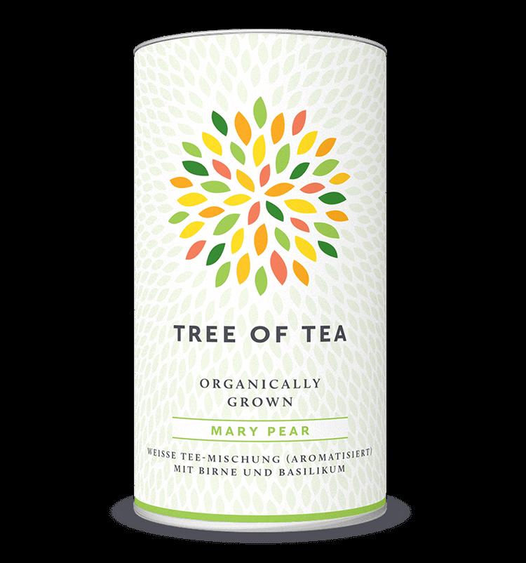 Mary Pear Weißer Tee mit Birne und Basilikum