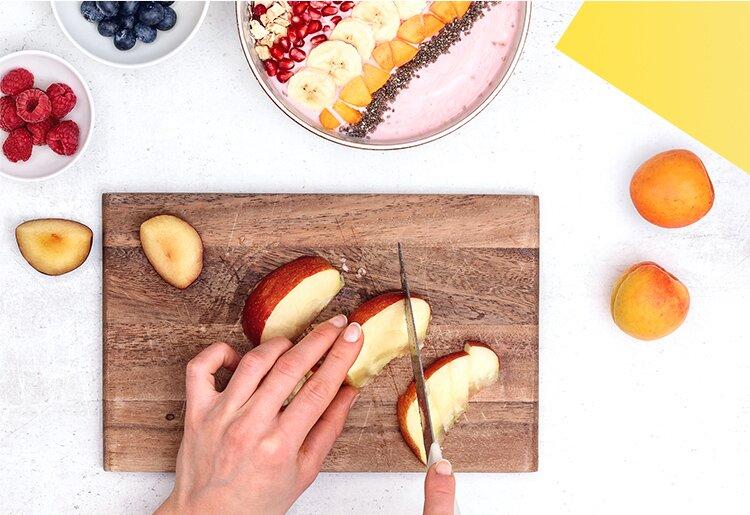 Frische Früchte für ein ausgeglichenes Frühstück