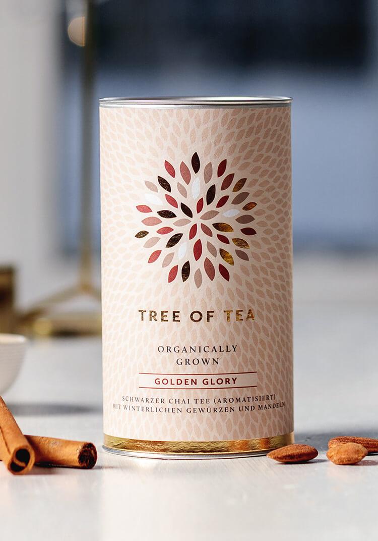 Bio-Blatt-Tee für die kalte Jahreszeit.