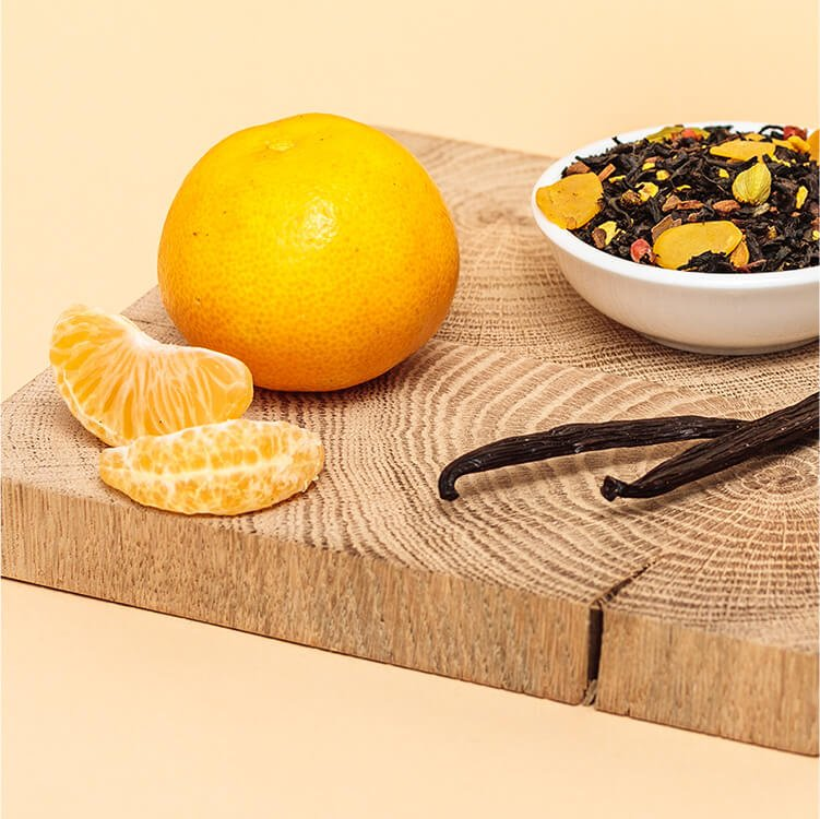 Süß-säuerliche Mandarinen mit winterlichem Golden Glory