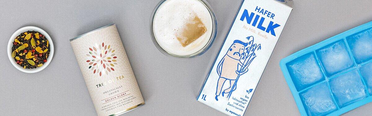 Das Chai Tea Set für eisgekühlten Chai Latte