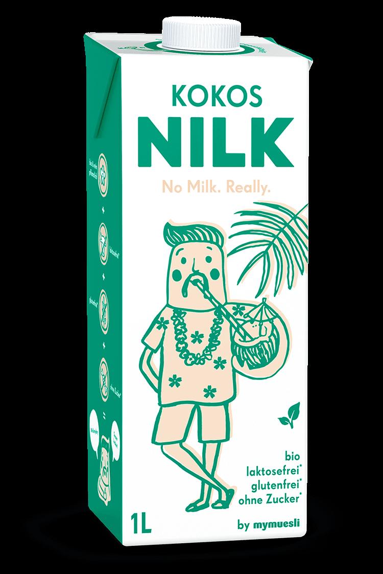 Bio, laktose- und glutenfrei, das ist unsere neue Kokos Nilk