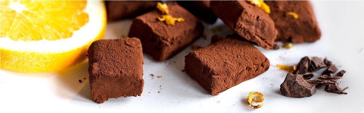 Schokoladenkonfekt mit Miss Grey