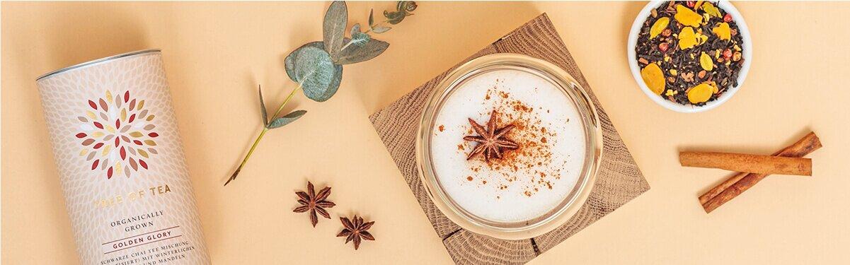 Chai Tee Latte mit Golden Glory