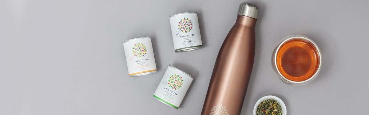 Thermo Bottle Set in feinem Roségold mit 3 leckeren Sorten