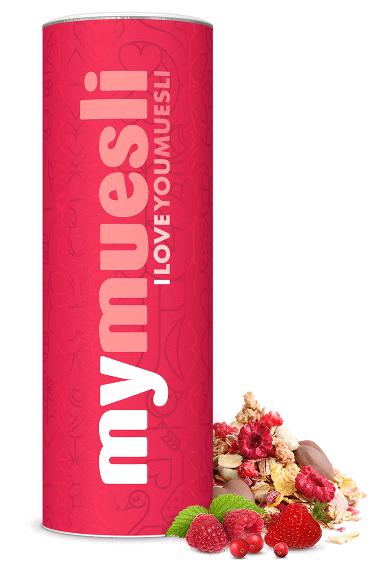 Muttertag mit dem I Love You Müsli