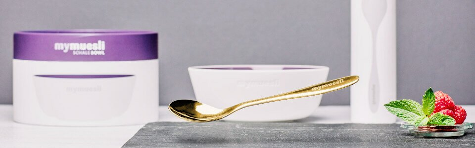 Goldener Löffel von mymuesli