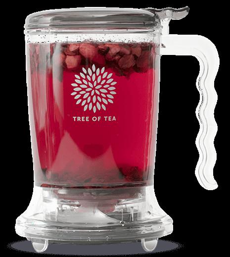 Der praktische Tea Maker für leichte Zubereitung und einfaches Servieren