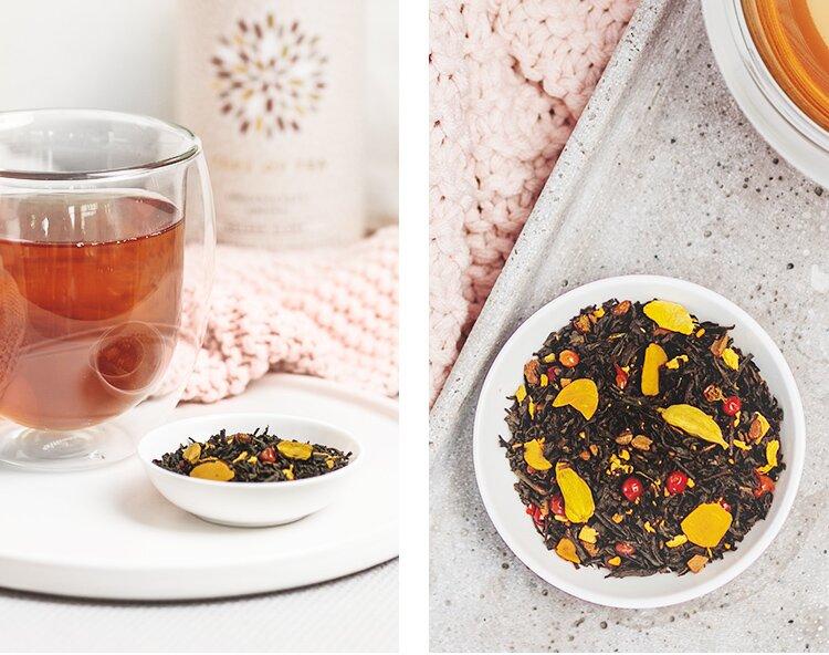 Unser limitierter Golden Glory Chai Tee mit Wintergewürzen