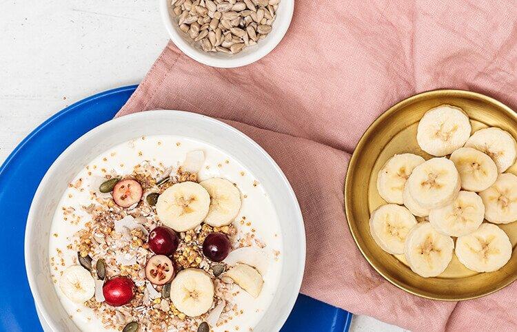 Banana Coconut Grainfree Granola ohne Getreide