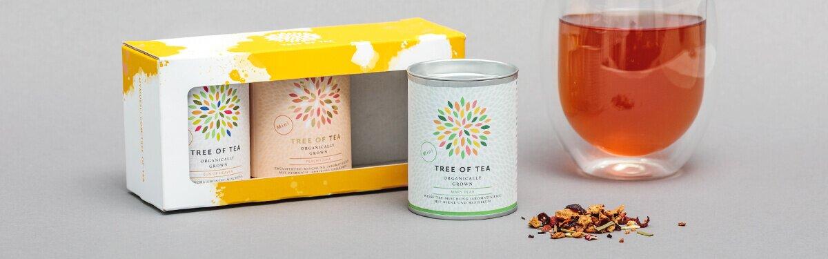 Das limitierte Frühlingsset mit 3 Tee-Minis