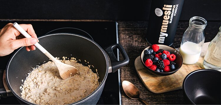 Für Dein leckeres Hafer-Frühstück aus Bio-Zutaten