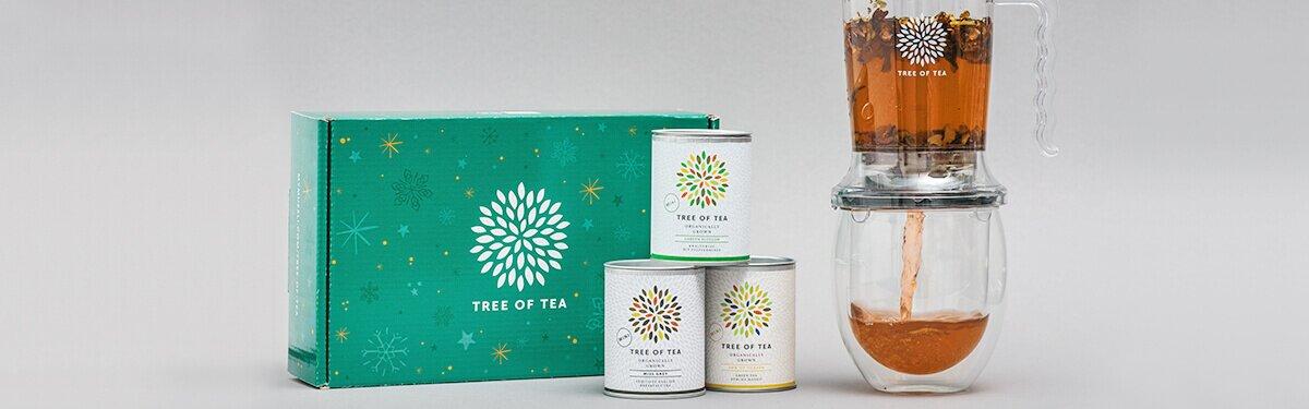 Exklusiv zu Weihnachten: Das Tea Maker Set mit 3 Mini Tees