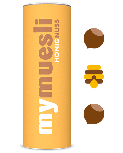 Honig-Nuss-Müsli