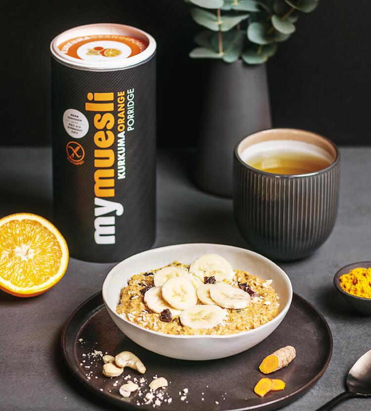 Feinstes Bio-Porridge mit besten Zutaten