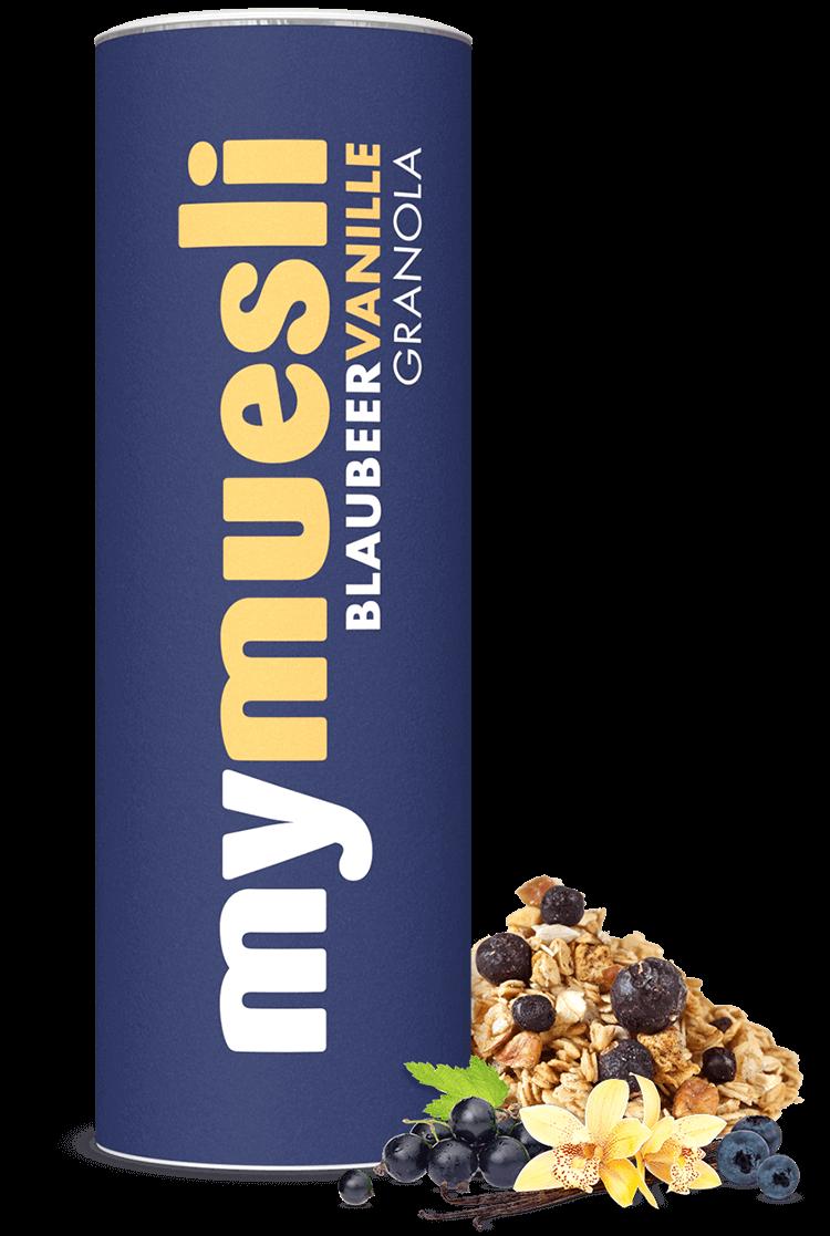 Knuspriges Granola-Müsli, in Bienenhonig gebacken