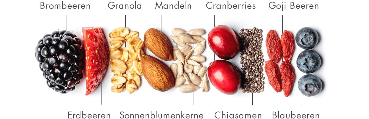 Müsliriegel aus 11 leckeren Bio-Zutaten.