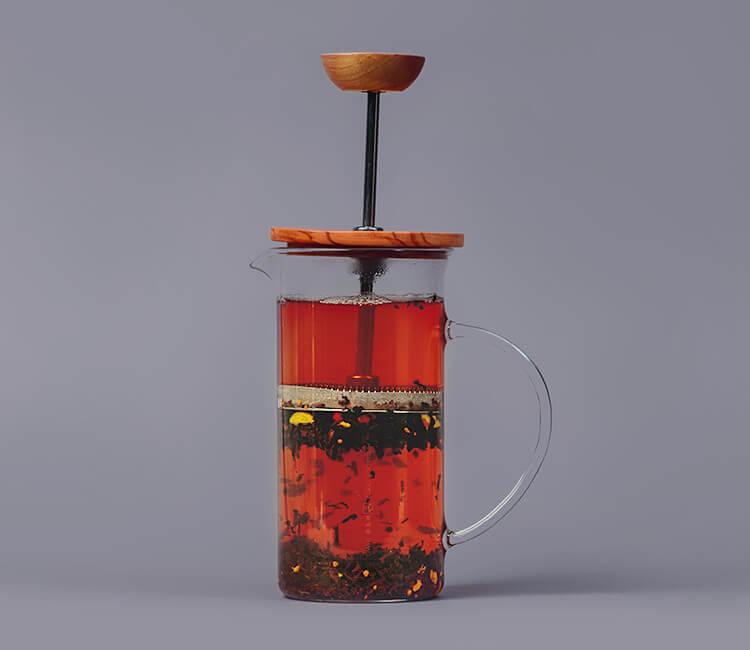 Nach 3-5 Minuten Ziehzeit ist der Tee bereit zum Genießen.
