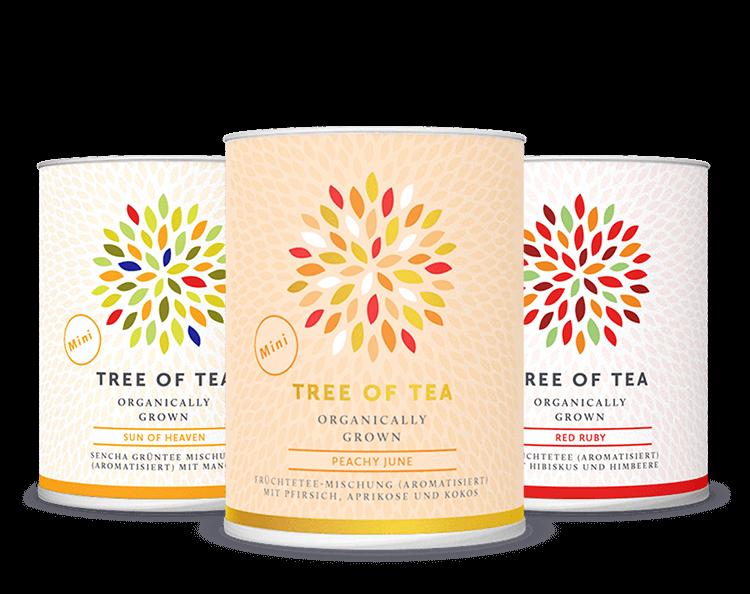 Unsere 3 beliebtesten Teesorten vereint in einem Set