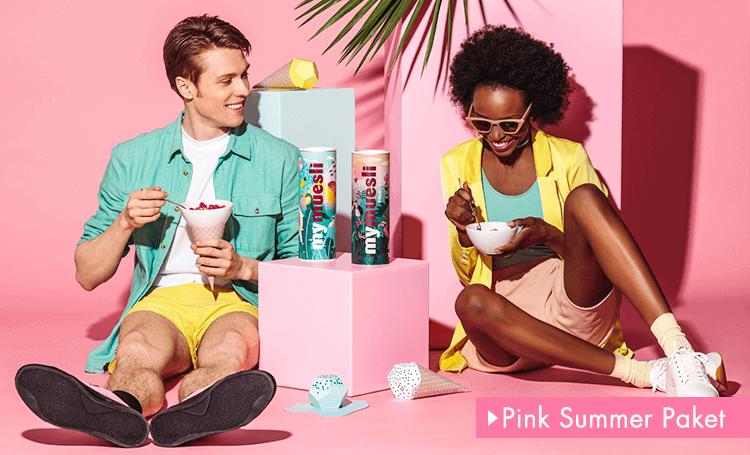 Pink Summer Paket exklusiv für die Sommer Saison.