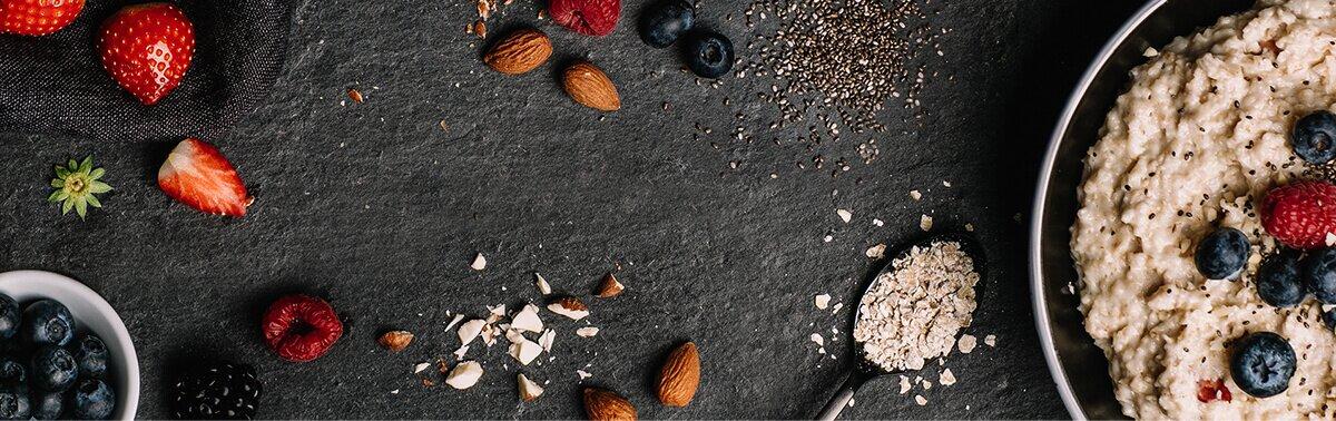 Bio-Zutaten für Deinen Porridge