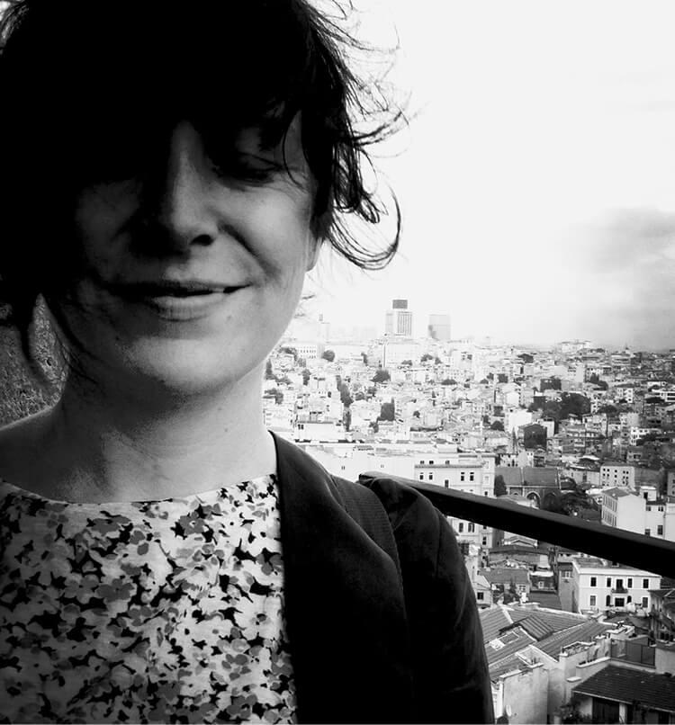 Illustratorin und Grafikdesignerin Sandra Beer