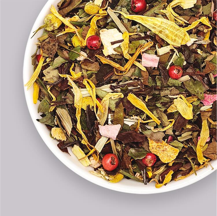 Mary Pear – Weißer Tee verfeinert mit Birne und Basilikum