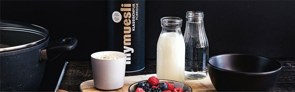 Für Deinen morgendlichen Porridge-Genuss