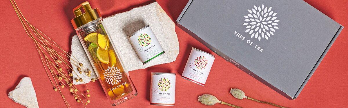 Tolle Sets mit Zubehör und Tee bei Tree of Tea