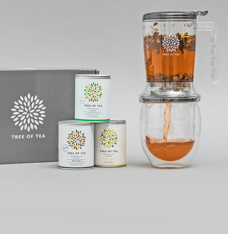 Tee im Nu zubereitet im Tea Maker
