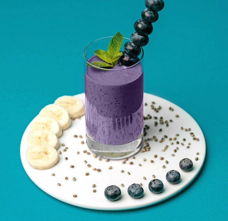 Protein Smoothie mit Hafer Nilk