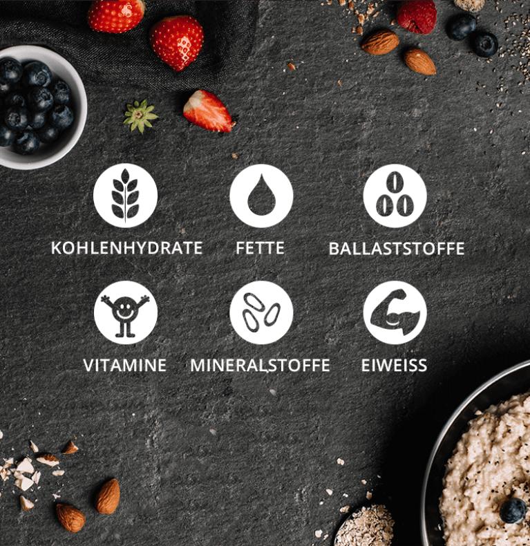 Porridge mit wertvollen Mineralstoffen