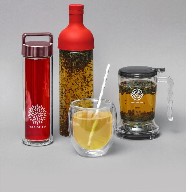 Das Zubehör von Tree of Tea