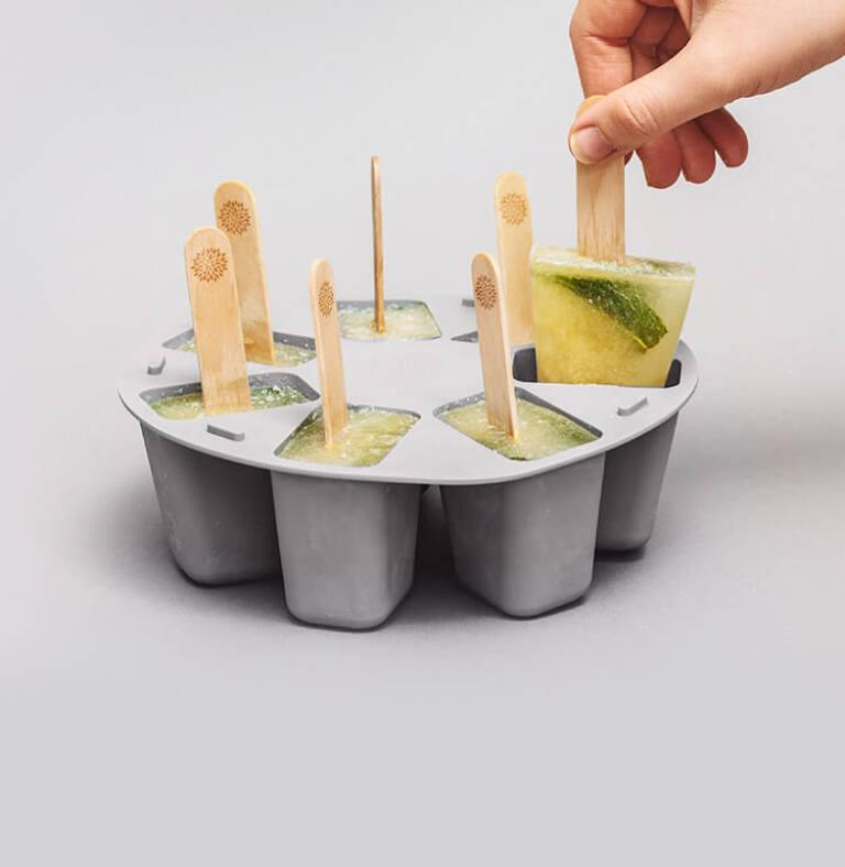 Tolle Eiskreationen selbermachen mit dem Popsicle Maker
