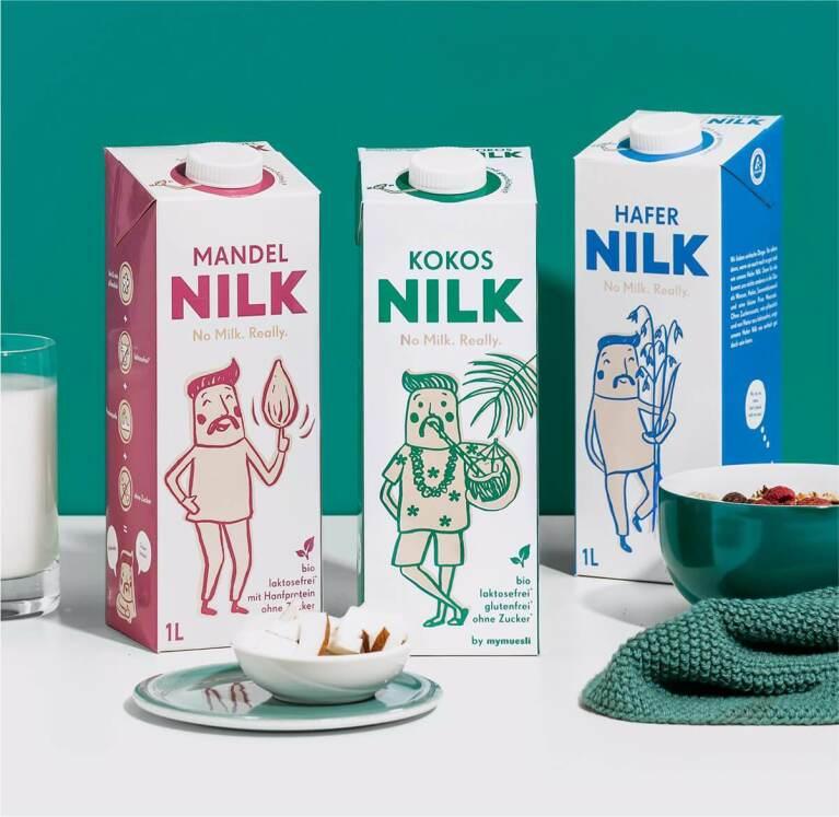 Entdecke die ganze Welt von unserer pflanzlichen Milchalternative Nilk.