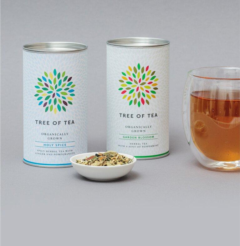 Unser Kräutertee Set mit 2 kräuterbasierten Tees ohne Koffein