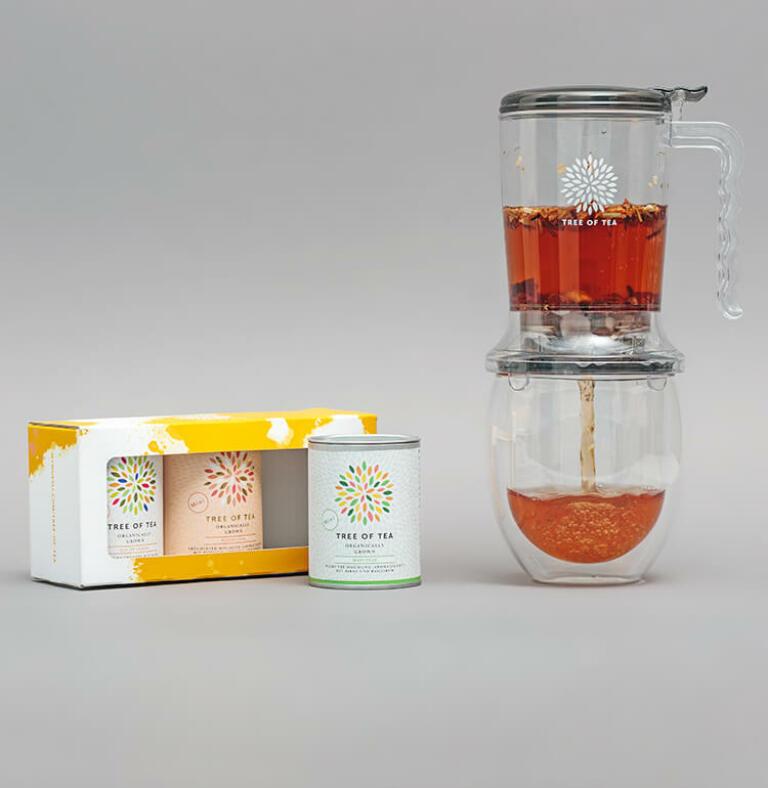 Das Tea Maker Set mit 3 leckeren Frühlingstees
