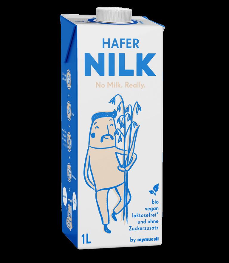Unsere Hafer Nilk mit der extra Portion Hafer.