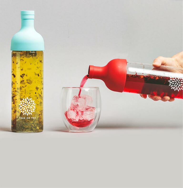 Die Eisteeflasche