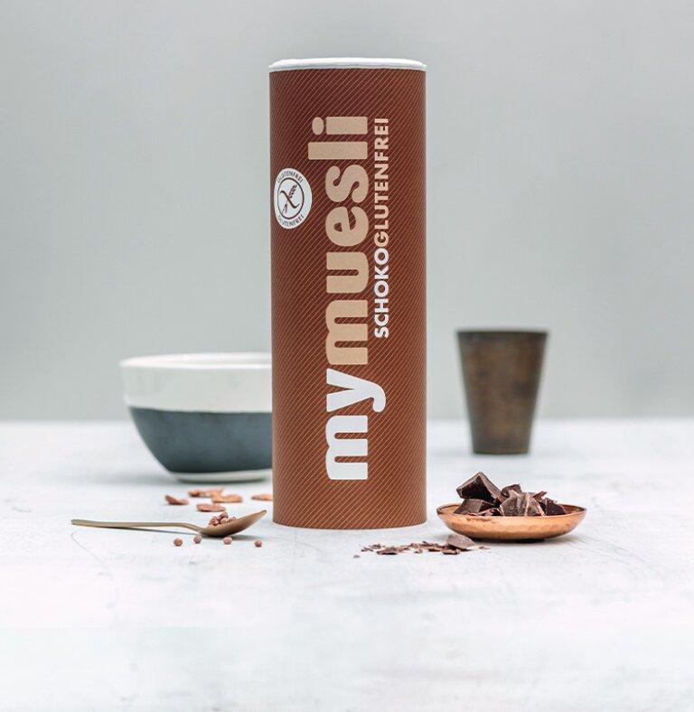 Schokoladiges Bio-Müsli Glutenfrei.