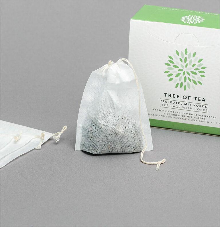 Praktische Teebeutel zum Befüllen mit Blatttee