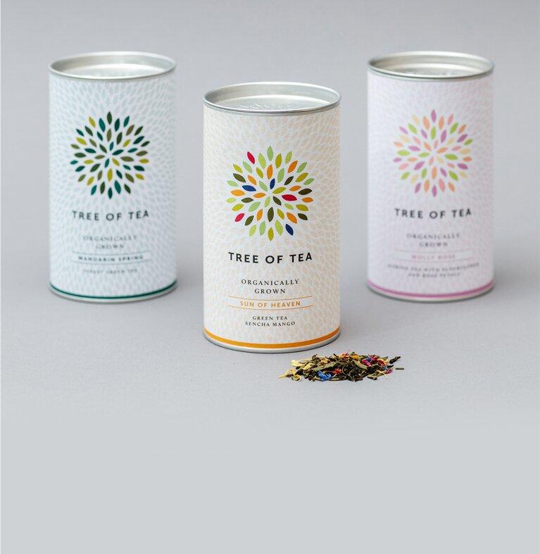 Grünes Tee-Set von Tree of Tea