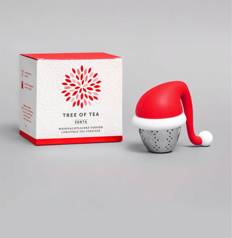 Auch einzeln erhältlich: Das Santa Teesieb