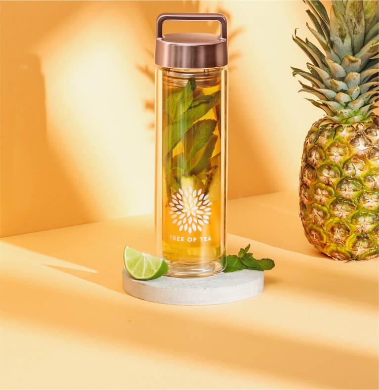 Heaven2go mit Minze und Ananas