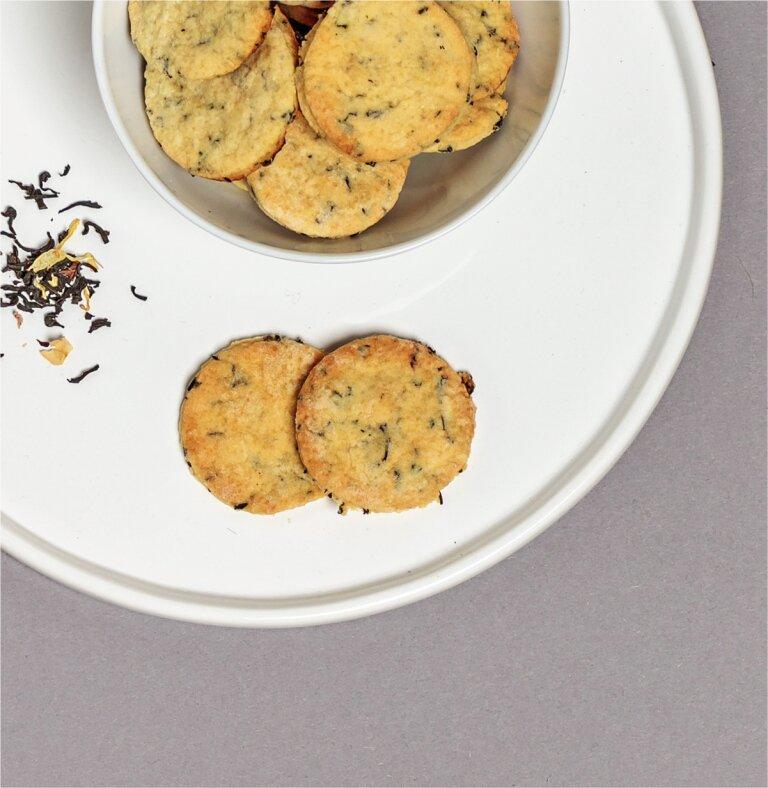 Earl-Grey-Kekse mit Miss Grey Schwarztee