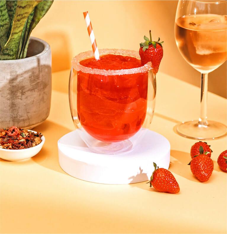 Erdbeer Frosé mit dem Red Ruby