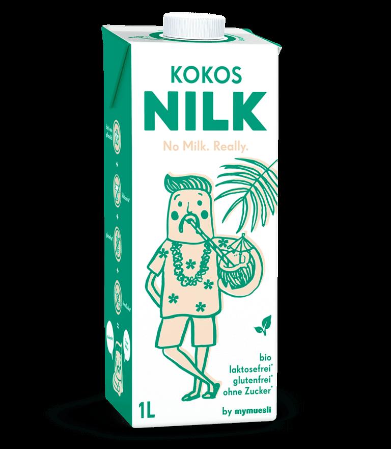 Unsere Kokosnilk mit bester Bio-Kokosmilch.