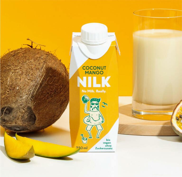 Nilk2go Coconut Mango mit leckerer Kokos Nilk.