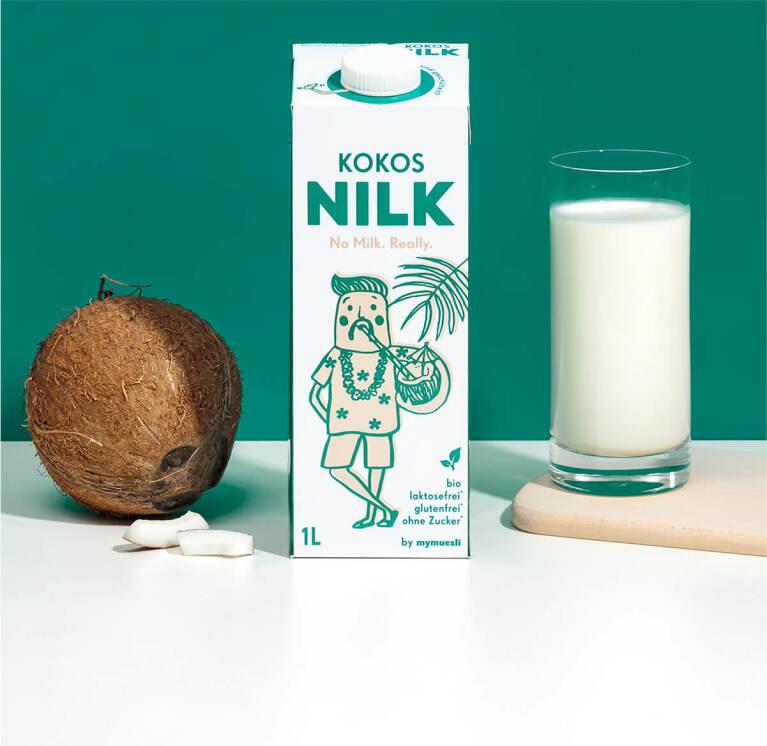 Pflanzlich, glutenfrei und bio: Unsere Kokos Nilk.