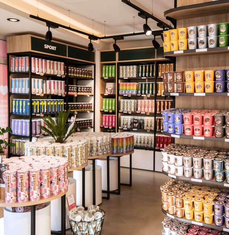 Die mymuesli Läden | Müsli, Porridge & mehr